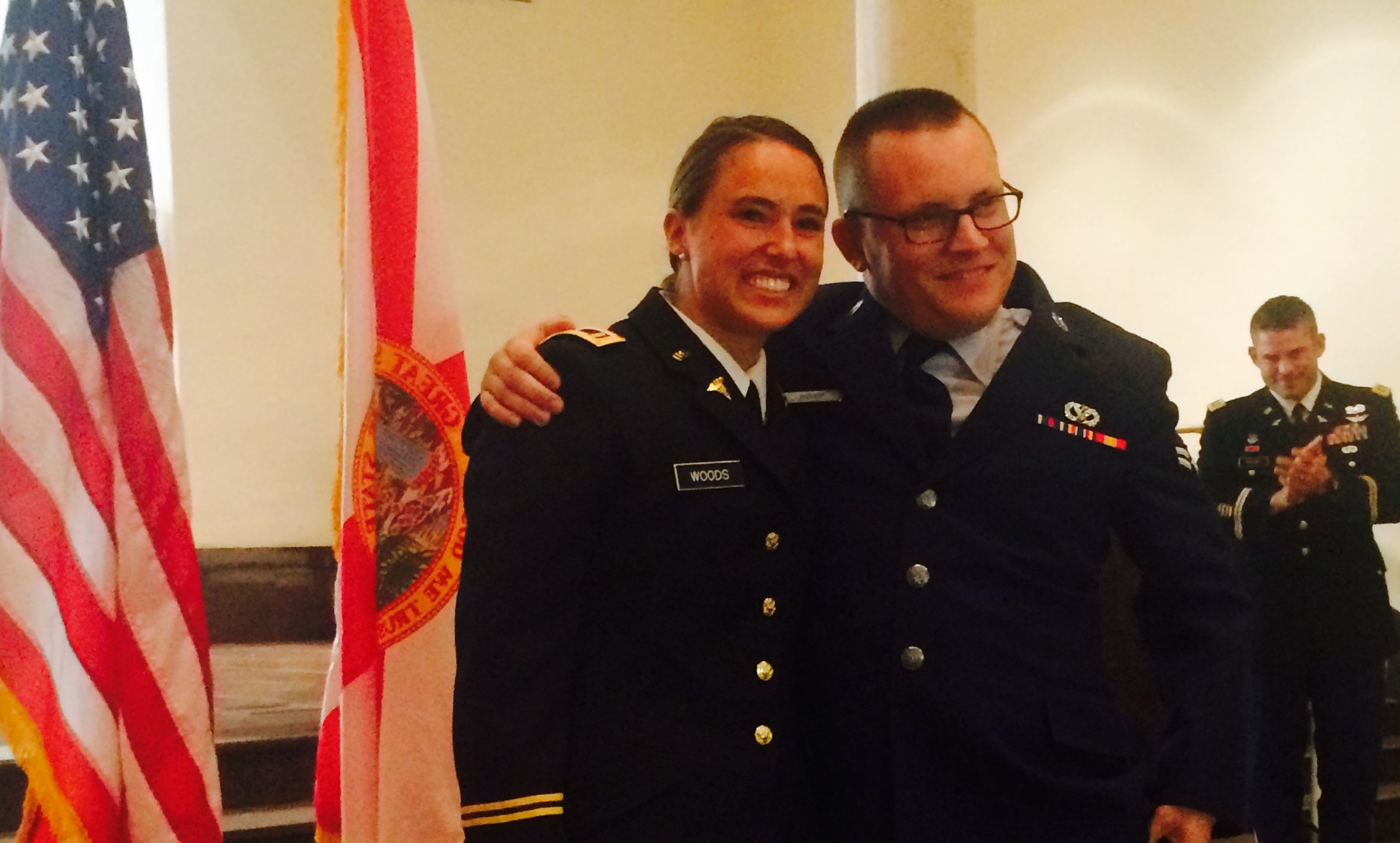 Class of 2015 – ROTC Commissioning of Sarah Woods