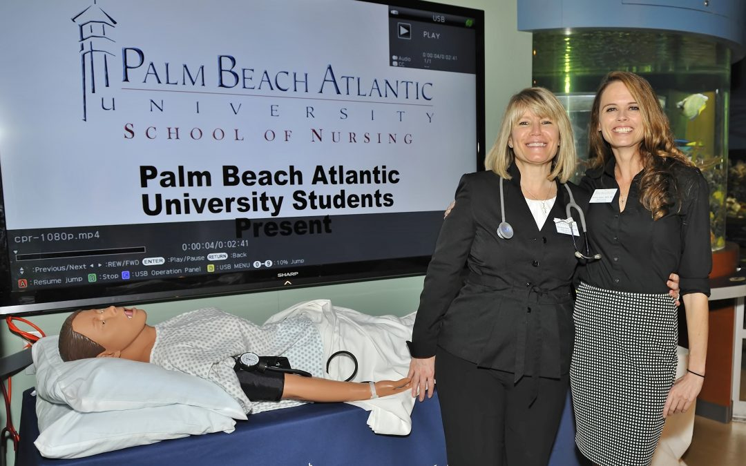 Palm Healthcare Foundation features PBA Nursing Simulation at South Florida Science Center
